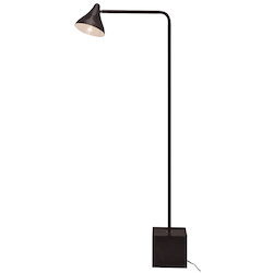 Black Acorn Floor Lamp - 381211