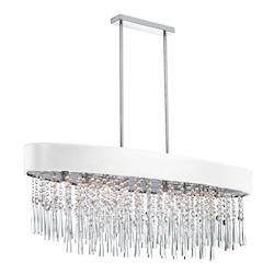 Josephine 8 Light Crystal Chandelier