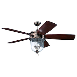 60in.; Ceiling Fan w/Blades & Light Kit - 381583