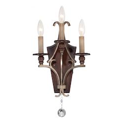 Gwendolyn Place 3 Light Wall Sconce - 382032