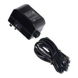 Black 12 Volt Class 2 Plug-In Electronic Transformer - 60 Watt Maximum Load