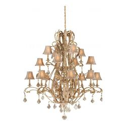 Empire 16L Chandelier - Vaxcel International EP-CHS016PP