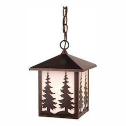 Yosemite Outdoor Pendant BBZ (Trees) - Vaxcel International OD33486BBZ