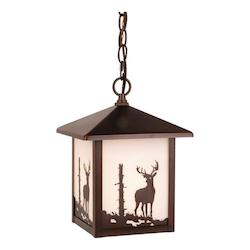 Bryce Outdoor Pendant BBZ (Deer) - Vaxcel International OD33586BBZ