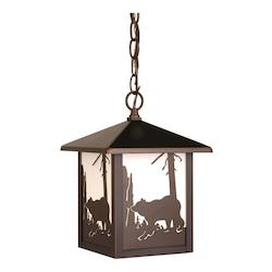 Bozeman Outdoor Pendant BBZ (Bear) - Vaxcel International OD35086BBZ