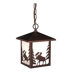 Yellowstone Outdoor Pendant BBZ (Moose) - Vaxcel International OD36986BBZ