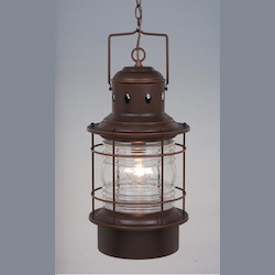 Hyannis 10in. Outdoor Pendant - Vaxcel International OD37006BBZ