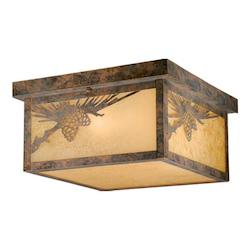 Whitebark Outdoor Ceiling Light - Vaxcel International OF50511OA