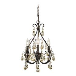 Alicia 3L Mini Chandelier - Vaxcel International H0035