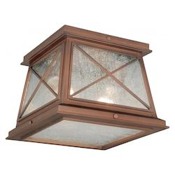 9in. Outdoor Flush Mount - Vaxcel International T0065