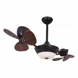 Eclipse II 42in. 2-Rotor DC Ceiling Fan - Vaxcel International F0019