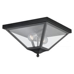 Nottingham 13in. Outdoor Flush Mount - Vaxcel International T0084