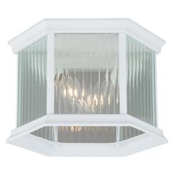Kingston Aluminum 9in. Outdoor Flush Mount - Vaxcel International T0137