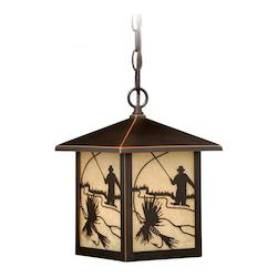 Mayfly 8in. Outdoor Pendant - Vaxcel International T0112