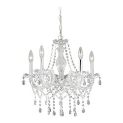 Audrey 5L Mini Chandelier - Vaxcel International H0150