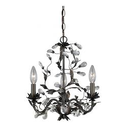 Trellis 3L Mini Chandelier - Vaxcel International H0149