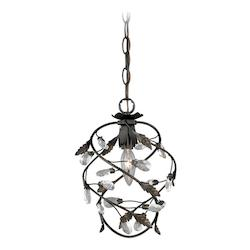 Trellis 1L Mini Pendant - Vaxcel International P0145