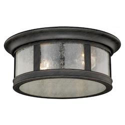 Hanover 12in. Flush Mount - Vaxcel International T0155