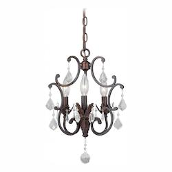 Perouges 3L Mini Chandelier - Vaxcel International H0157