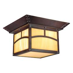 Taliesin 11in. Outdoor Ceiling Light - Vaxcel International TL-OFU110EB