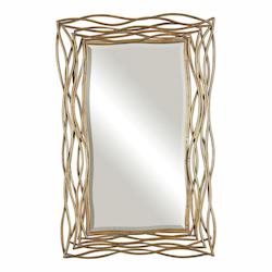 Uttermost Tordera Oxidized Gold Mirror