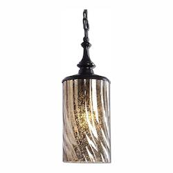 Uttermost Trabes 1 Light Glass Mini Pendant