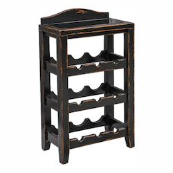 Uttermost Halton Wine Rack Table