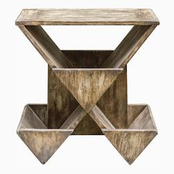 Uttermost Enzo Geometric Accent Table