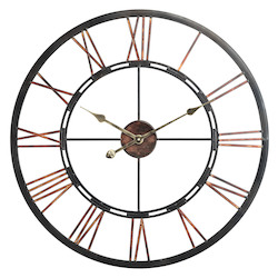 Mallory Clock - Metal - 393389