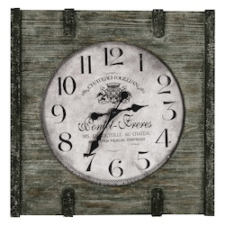 St. Clair Clock - Wood - 393414