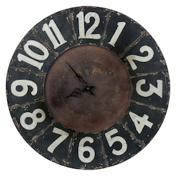 Balencia Clock - Wood - 393416