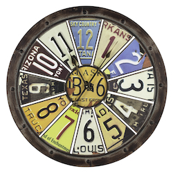Hildale Clock - Metal - 393428