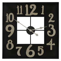 Brazos Clock - Metal - 393449