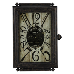 Charest Clock - Metal - 393450
