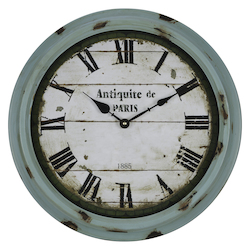 Anthea Clock - Metal - 393453