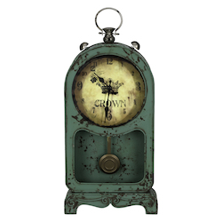 Ruslana Table Clock - Metal - 393514
