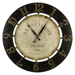 Atish Clock - Metal - 393534