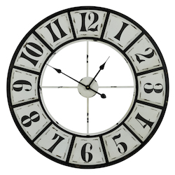 Bianca Clock - Manufactured Wood - 393540