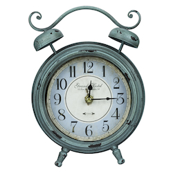 Mica Table Clock - Metal - 393543