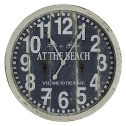 Greenwich Clock - Wood - 393586
