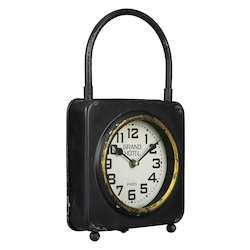 Colfax Table Clock - Metal - 393590