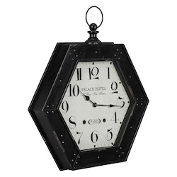Belmont Wall Clock - Metal - 393591