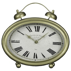 Welsley Table Clock - Metal - 393597