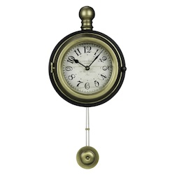 Harmen Wall Clock - Metal - 393598