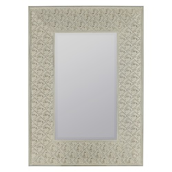 Ashley Mirror - Metal - 393617