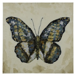 Shimmering Butterfly - Canvas - 393630