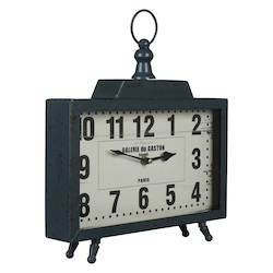 Kiho Table Clock - Metal - 393661