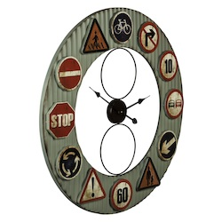 Lewa Clock - Metal - 393662