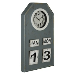 Venda Clock - Manufactured Wood - 393664