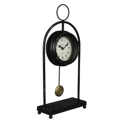Oringo Table Clock - Metal - 393672